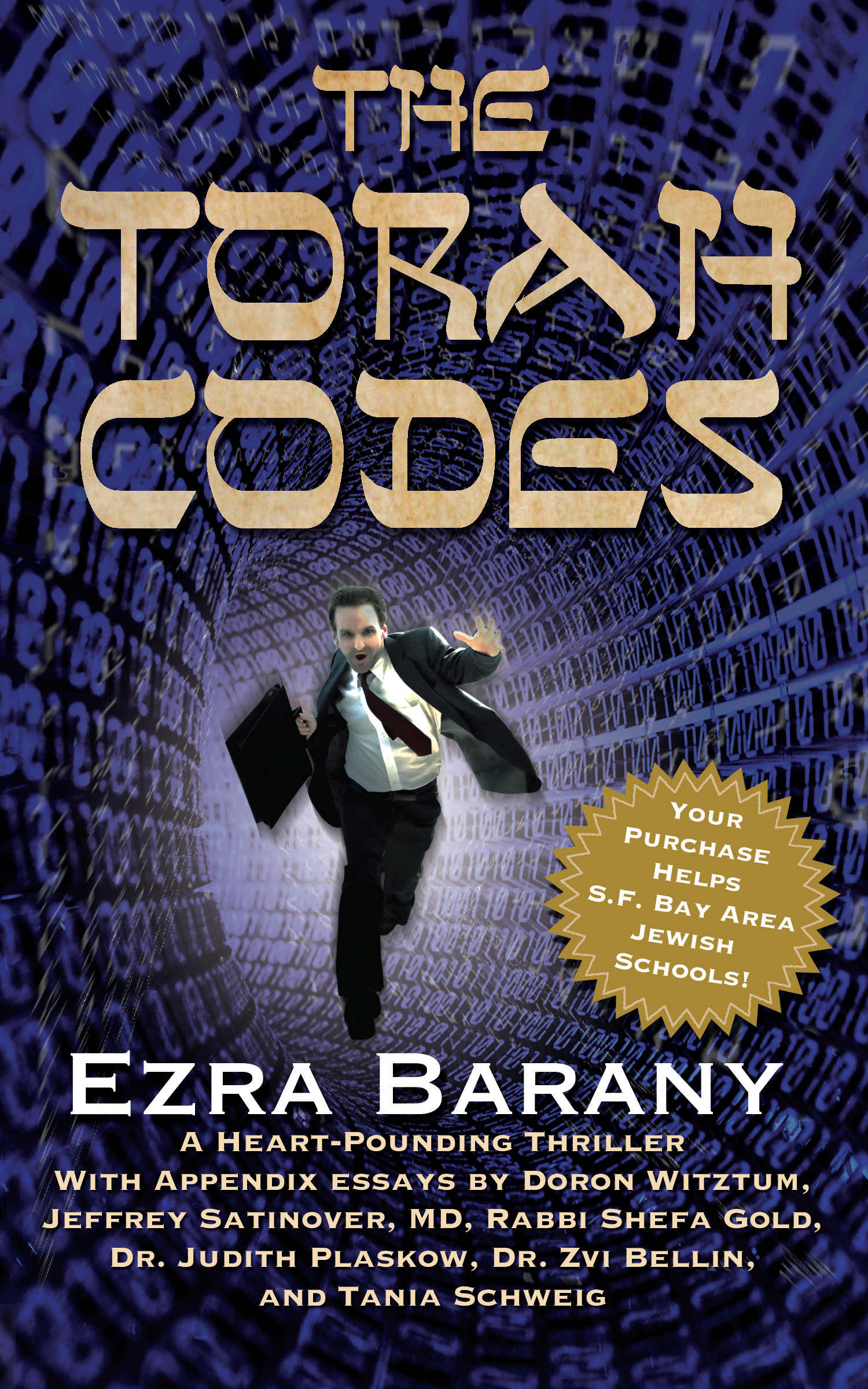 media kit for book reviewers the torah codes series thriller the torah codes cover high res opens in a new window