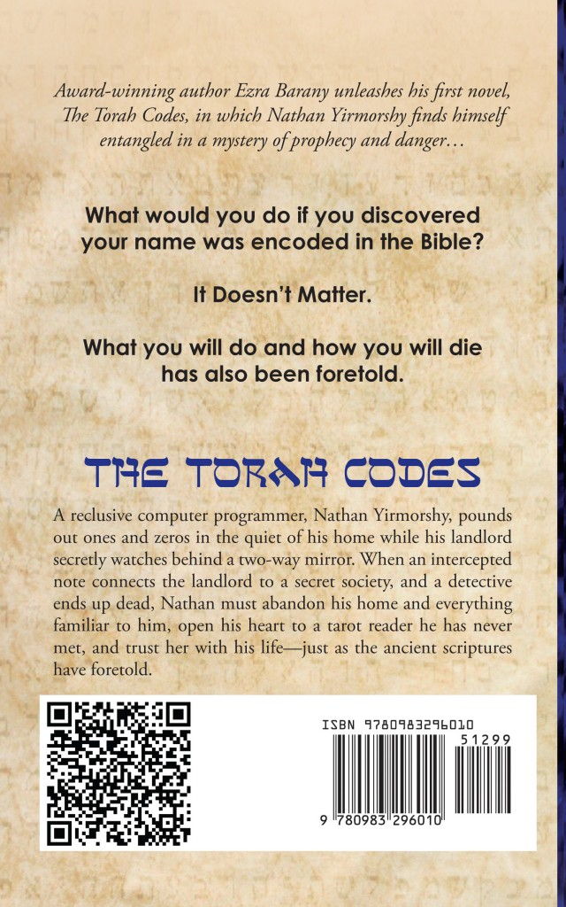 The Torah Codes Back Cover